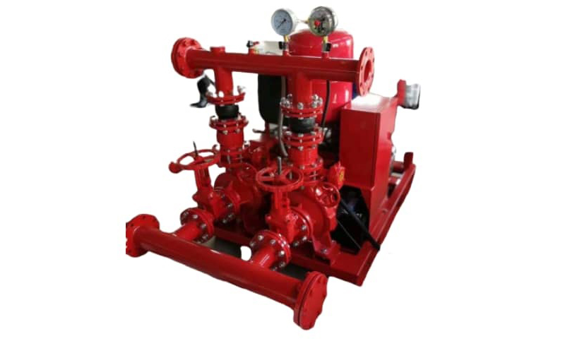 fire pump diesel and jockey pump